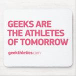 athletes-tomorrow_G_pink Alfombrillas De Ratones