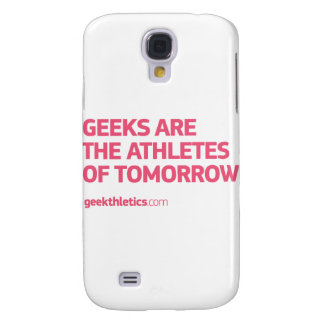 athletes-tomorrow_G_pink Galaxy S4 Cover