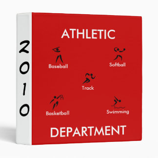 Athletic Department, Avery Binder