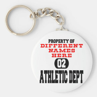 Athletic Department Main Keychain
