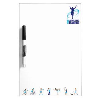 Athletic Diabetic White Board