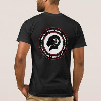 Athletic Fit American Apparel RAM T-Shirt, Black T-Shirt