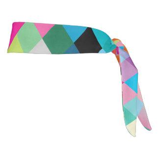 """Athletic Headband: """"MULTI COLOR"""" Tie Headband"""