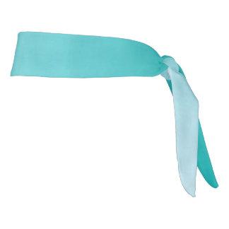 "Athletic Headband: ""TEAL OMBRE"" Tie Headband"