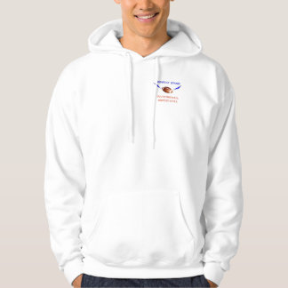 Athletic style hoodie with MIDWEST STORM logo