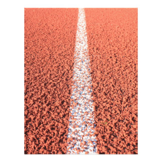 Athletic Track - Running Track Personalized Letterhead