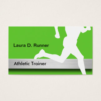 Athletic Trainer Business Cards