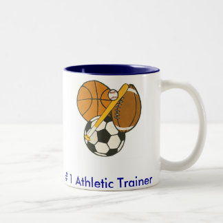 Athletic Trainer - Customized Two-Tone Coffee Mug
