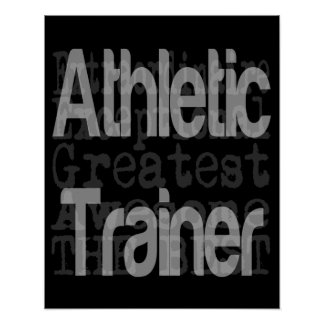 Athletic Trainer Extraordinaire Poster