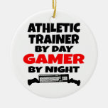 Athletic Trainer Gamer Christmas Ornaments