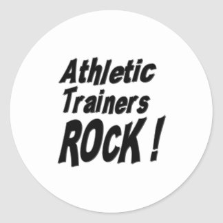 Athletic Trainers Rock! Sticker