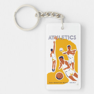 Athletics Keychain