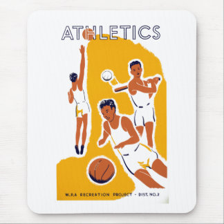 Athletics Mouse Pad