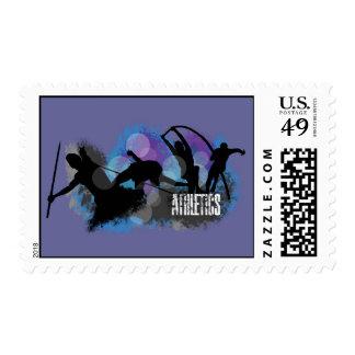 Athletics Postage Stamp
