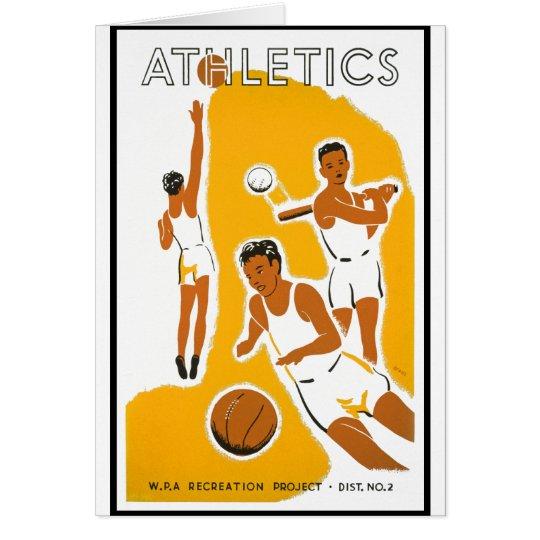 Athletics poster (1939) card