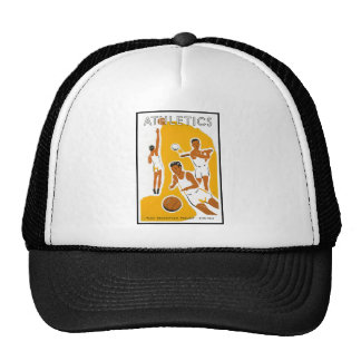Athletics poster (1939) trucker hat