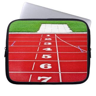 "Athletics Racing Track Laptop Sleeve 10"""