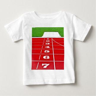 Athletics Running Track Baby Tee Shirt