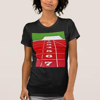 Athletics Running Track Tee Shirt