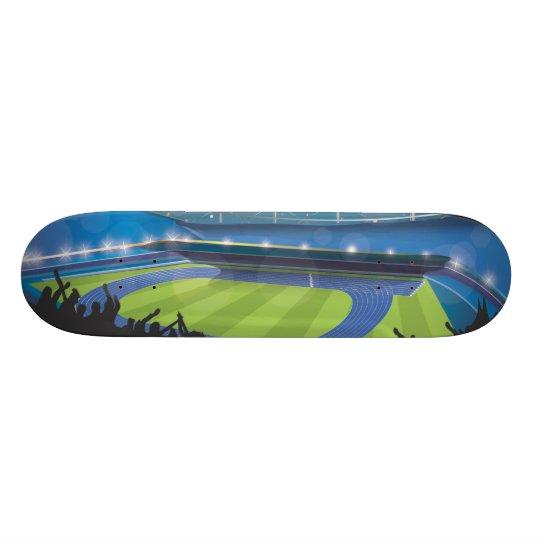 Athletics Stadium Skateboard Deck