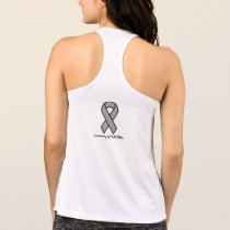 AthleticTank: Running with Eagles' Wings w/ Ribbon Tank Top