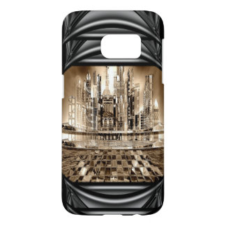 Athochrous City of the Future IV Samsung Galaxy S7 Case