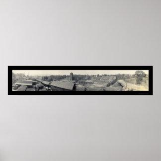 Athol, MA Photo 1914 Print