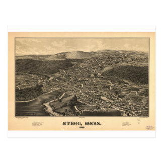 Athol, Massachusetts en 1887 Tarjetas Postales