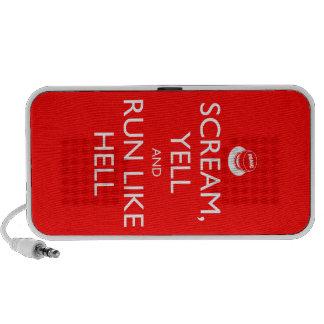 Atiérrese y continúe iPod altavoz