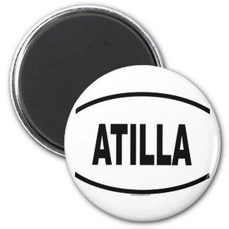 ATILLA 2 INCH ROUND MAGNET