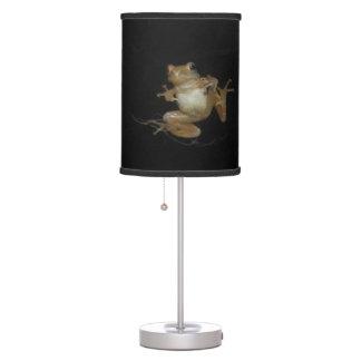 Atisbador de primavera septentrional lámpara de mesa