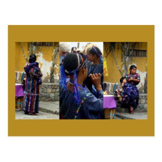 Atitlan Women Postcard