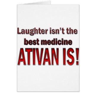 Ativan Card
