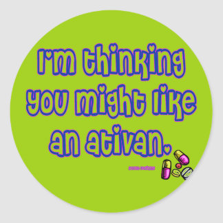 Ativan Stickers
