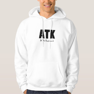 ATK at the keyboard Hoodie