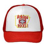 Atkins Rocks ! (red) Mesh Hat