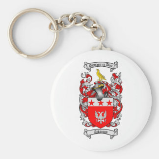 ATKINSON FAMILY CREST -  ATKINSON COAT OF ARMS KEYCHAIN