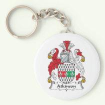 Atkinson Family Crest Keychain