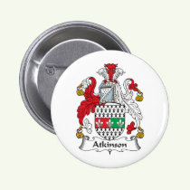 Atkinson Family Crest Button