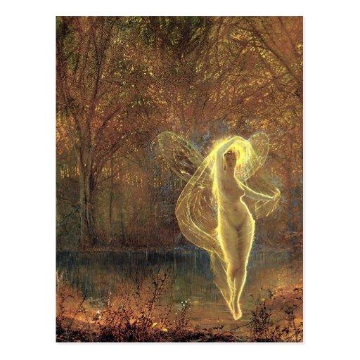 Atkinson Grimshaw Autumn CC0595 Fairy Postcard