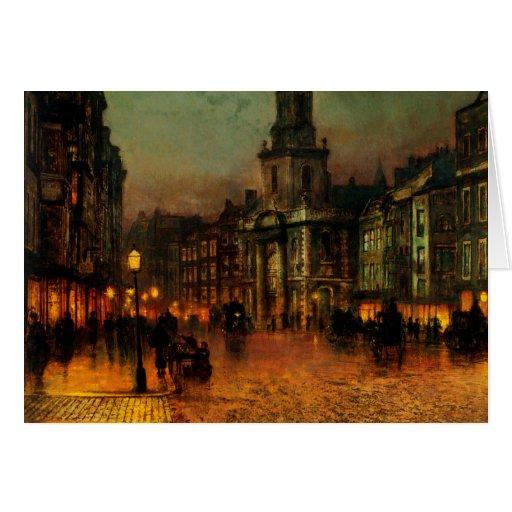 Atkinson Grimshaw Blackman Street CC0540 Card