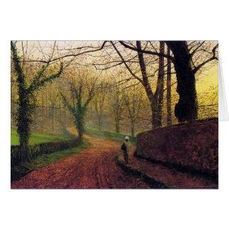 Atkinson Grimshaw Stapleton Park CC0460 Card