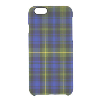 Atkinson Scottish Tartans Clear iPhone 6/6S Case