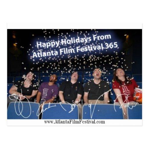 ATL365 Holiday Card Post Card