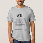 ATL Airport Layout T-Shirt