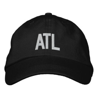 ATL Atlanta Georgia Personalized Adjustable Hat