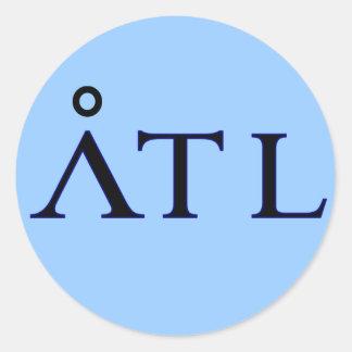 ATL Atlantis Sticker