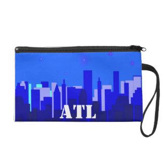ATL Cityscape Bagettes Bag Wristlet Purses