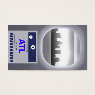 ATL CODE & SKYLINE BUSINESS CARD