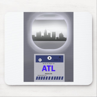 ATL CODE & SKYLINE MOUSE PAD